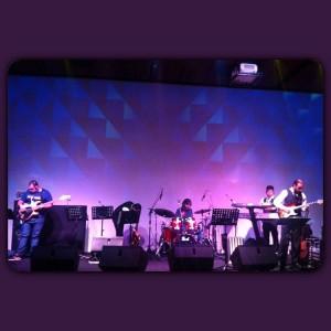 Passagem de som no espacojardimeuropa com a Banda Revolution segundahellip