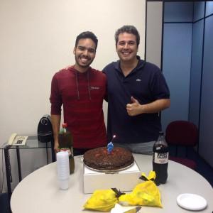 Hoje foi dia de festa na TRBR Eventos bolo parahellip